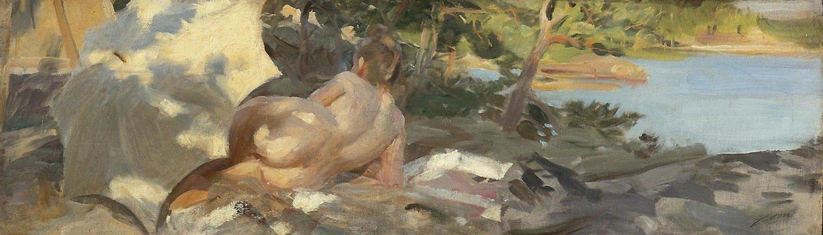 Artistas - Anders Zorn