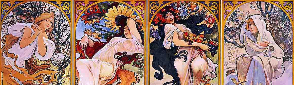 Artistas A-Z - Alfons Mucha